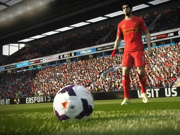 Some problems on FIFA 15 servers yesterday