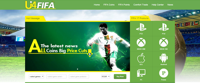 U4FIFA – Professional FIFA Coins Seller With Great Services