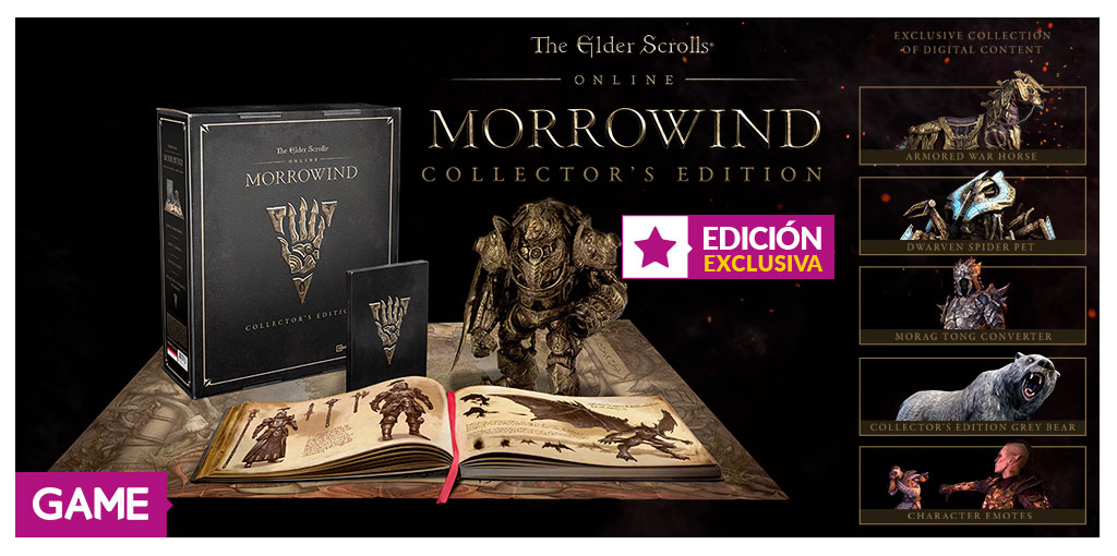 Learn More Morrowind Info From New ESO Trailer With Collector's Edition